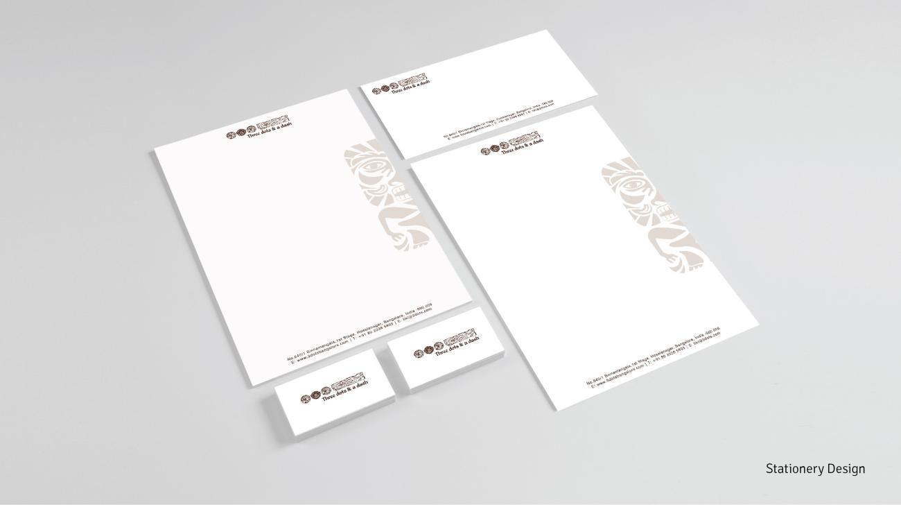 kreo Stationery design