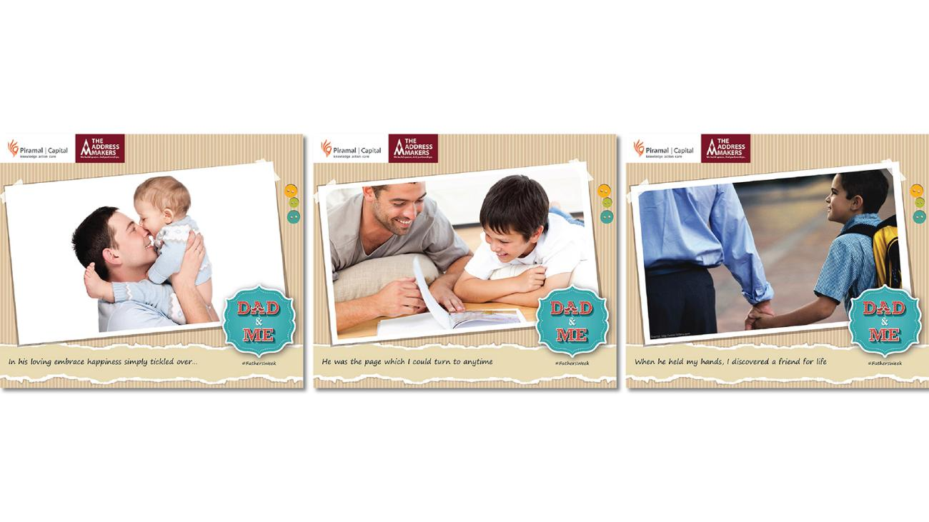 2015 Father's Day Campaign made for The Facebook Page of The Address Makers