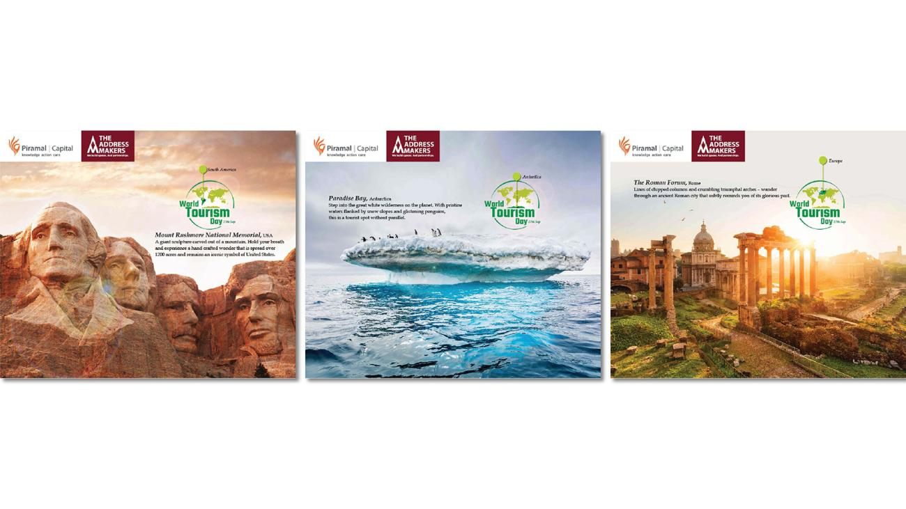 September 2015 World Tourism Day Campaign on Facebook conceptualised and created by Kreo Design & Innovation