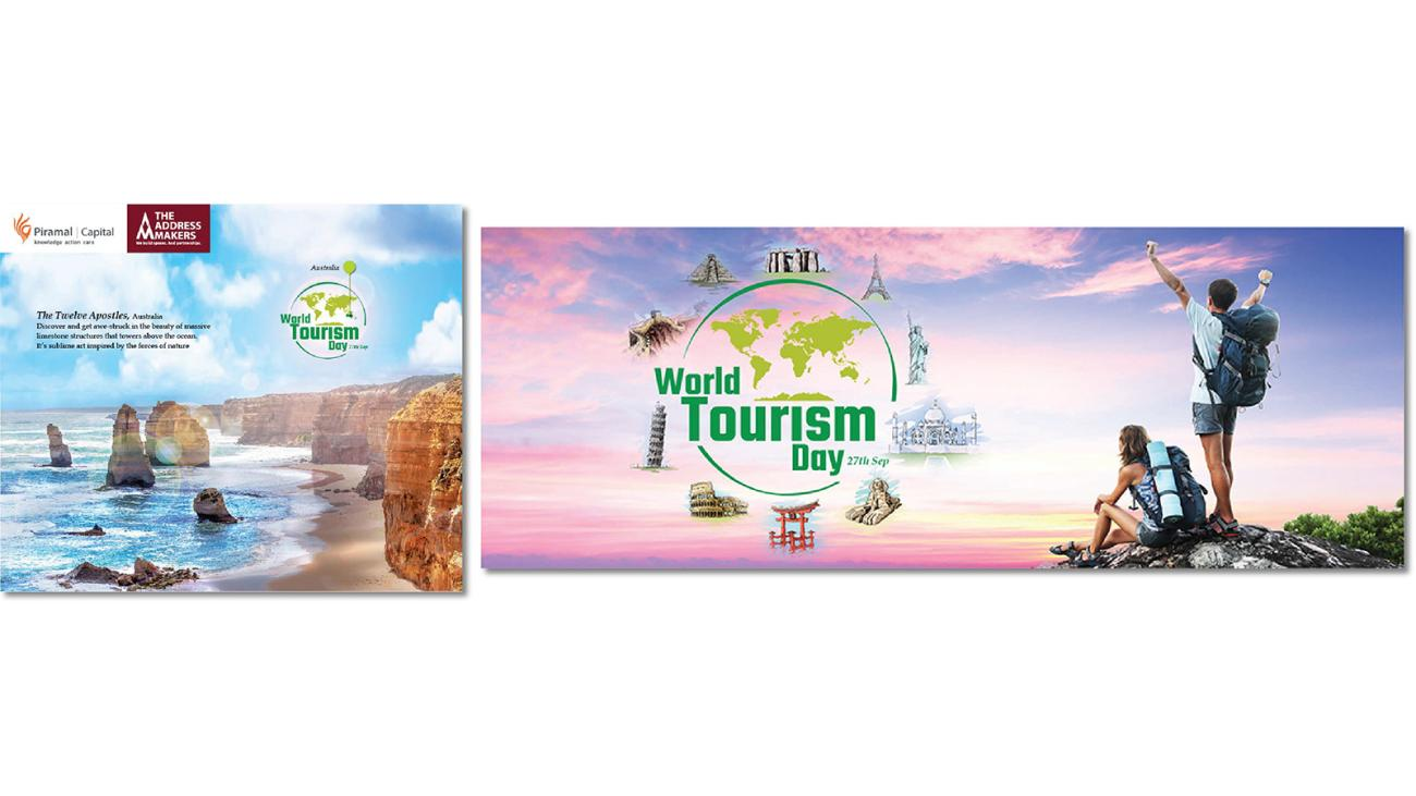 September 2015 World Tourism Day Campaign on Facebook for The Address Makers