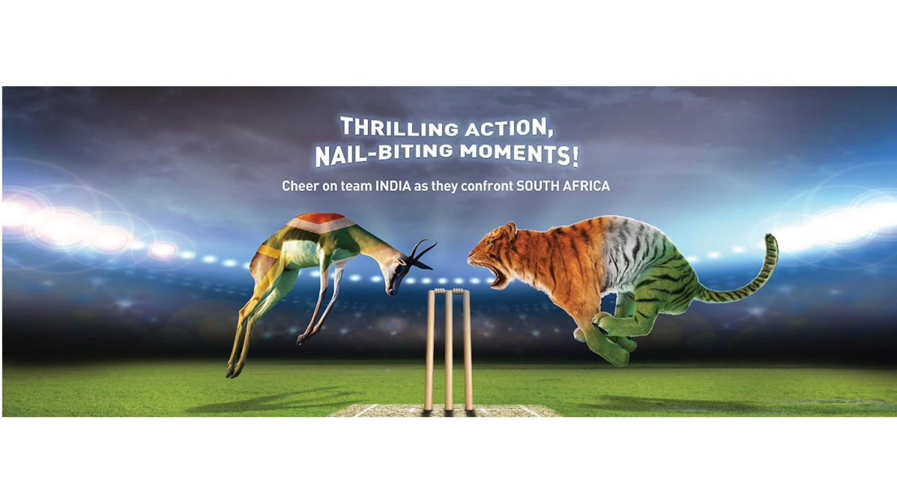 2015 World Cup Cricket Post on Facebook conceptualised & created by Kreo Design & Innovation