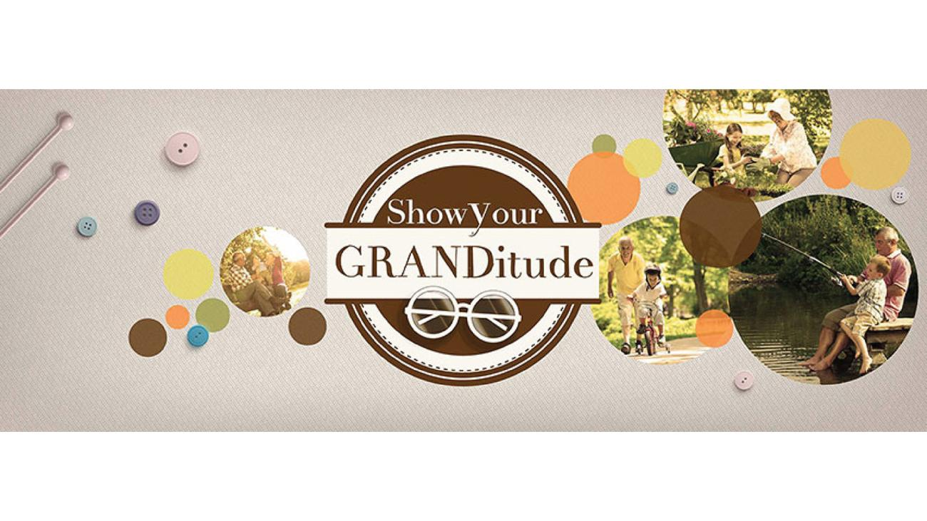 2015 Grandparent's Day Campaign on Facebook conceptualised & created by Kreo Design & Innovation for The Address Makers