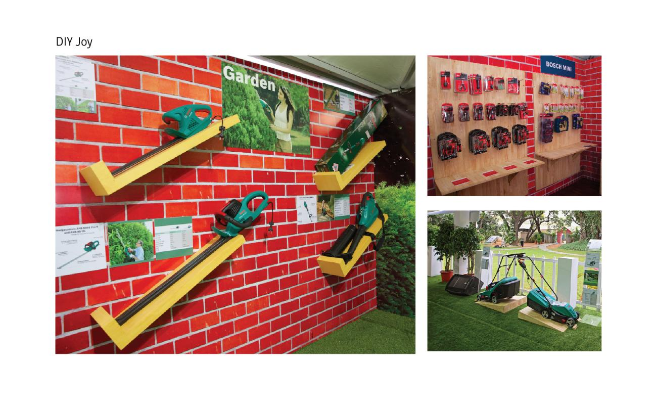 Innovative Wall Display & Product Display